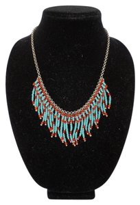 Tommassini TOMMASSINI Turquoise Beaded Dangling Necklace