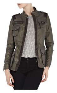 Vince Olive green/brown leather trim Jacket
