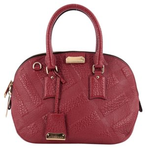 Burberry Orchard Leather Satchel