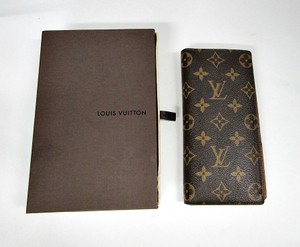 Louis Vuitton LV LOUIS VUITTON BRAZZA LONG WALLET MONOGRAM BI-FOLD M66540