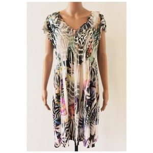Other short dress Multi Color Butterfly Print Stretchy on Tradesy