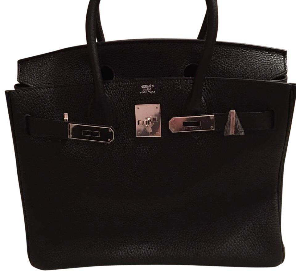 Hermès Birkin 30 Black Togo Leather Satchel - Tradesy fd2125226044b
