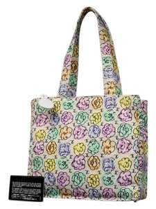 Chanel Camellia Flower Rose Floral Tote in multicolor