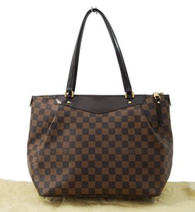 Louis Vuitton Lv Westminster Gm Damier Tote in Brown