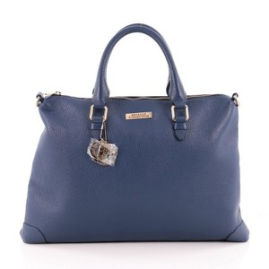 Versace Convertible Leather Tote