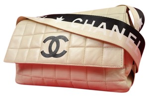 Chanel Quilted And White Cc Star Classic Flap Shoulder Bag