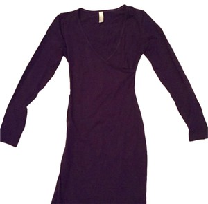 American Apparel short dress Purple on Tradesy