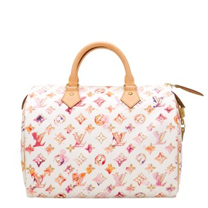 Louis Vuitton Speedy Watercolor Satchel