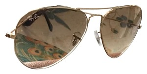 Ray-Ban Ray-Ban G15 Brown/Gold Aviator Sunglasses
