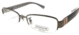 Coach Coach Women's Eyeglasses Gunmetal Black