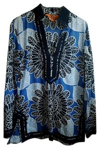 Tory Burch Cotton Floral Tunic