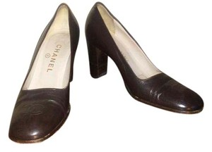 Chanel Dark brown Pumps