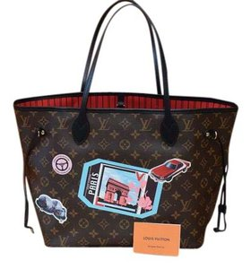 Louis Vuitton Lv Neverfull Mm World Tour Neverfull Gm Tote in Monogram