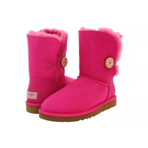 Pink Bailey Button Ugg Boots Pink Boots