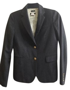 J.Crew Wool Jacket Unique Dark Heather Gray Blazer