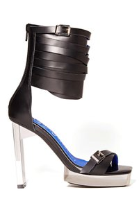 Jeffrey Campbell Platform Black Sandals