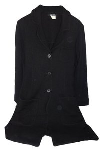 Karen Kane 3/4 Length Merino Wool Trench Coat