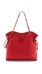 Tory Burch New W/ Tags Dust Sold Out Tote in Red