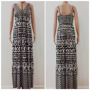 Black/White Maxi Dress by INC International Concepts
