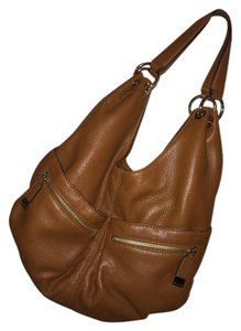 Michael Kors Tonne Leather Hobo Bag