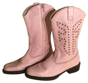 Frye Pink Boots