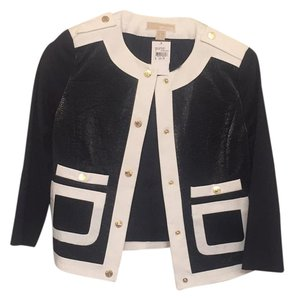 MICHAEL Michael Kors Navy with white trim and gold buttons Jacket