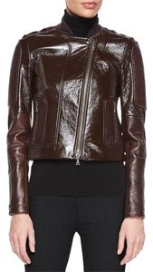 Theory Brown Leather Jacket