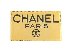 Chanel Vintage Gold Employee Brooch