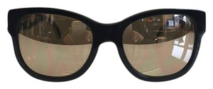Chanel Chanel Wayferer Sunglasses with Gold Mirrored Lenses