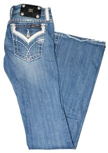 Miss Me Denim Boot Cut Jeans-Medium Wash