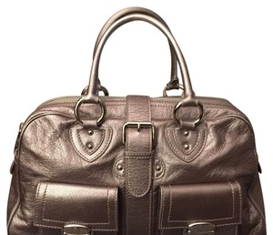 Marc Jacobs Satchel in Silver