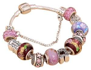 Other Sterling Silver Plated Charm Bracelet