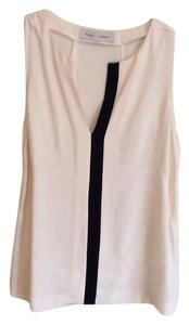 Proenza Schouler Top Ivory and Black