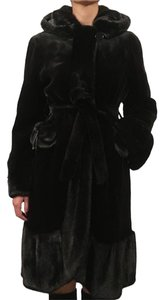 Select Black Fur Coat