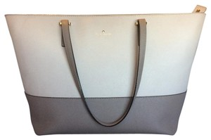 Kate Spade Tote in Taupe And Cream