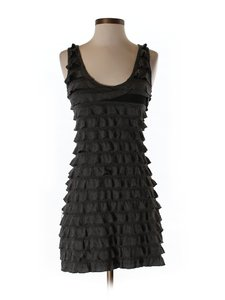 Poetry short dress Dark Gary Sexy Ruffles Night Out Date Night on Tradesy