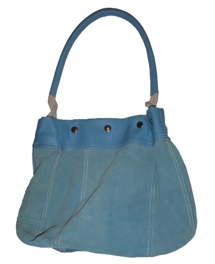 Preload https://img-static.tradesy.com/item/2026040/vintage-light-blue-genuine-suede-trim-man-made-hobo-bag-0-0-540-540.jpg