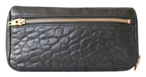 Alexander Wang Alexander Wang Black Leather Fumo Wallet