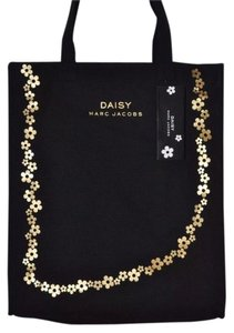 Marc Jacobs Carry On Handbag Tote in Black and Gold