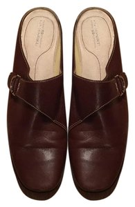 Rockport Leather Brown Mules