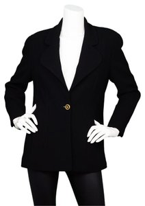 Chanel Vintage Clothing Black Blazer