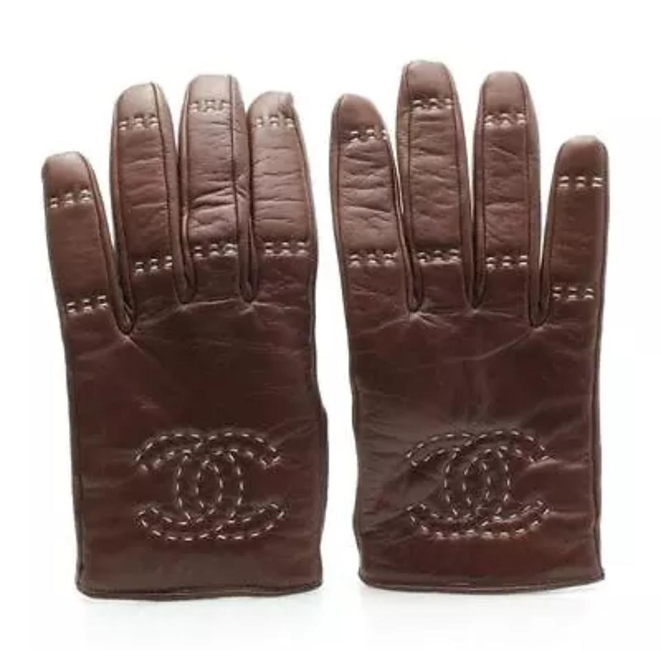 Chanel Leather Glove