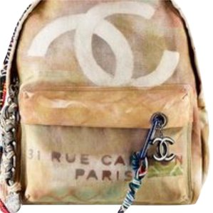 Chanel Canvas Backpack Backpack