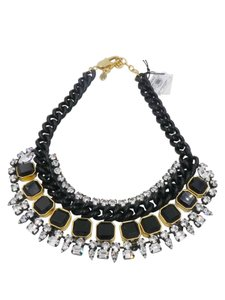 Juicy Couture Juicy Couture Rhinestone Drama Black Jewels Rhinestones Necklace