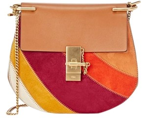 Chloé Chloe Patch Chloe Drew Multicilor Cross Body Bag