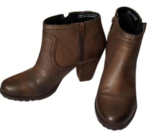 Clarks Leather Brown Boots
