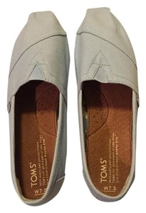 TOMS Baby Blue Flats