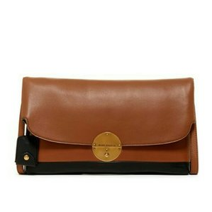 Marc Jacobs Leather Gold Cross Body Bag
