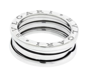 BVLGARI Bvlgari B.ZERO1 3 band ring in 18k white gold size 50 (USA 5.5)