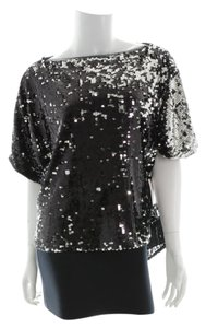 MILLY Top Silver